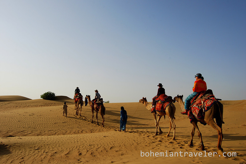 Thar desert camel train safari tourists (3).jpg