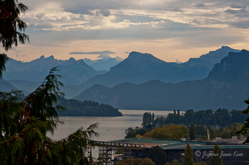 Lucern mountain scenery