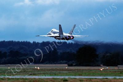 AFTERBURNER: Royal Canadian Armed Forces McDonnell Douglas F-18 Hornet Jet Fighter Afterburner Pictures