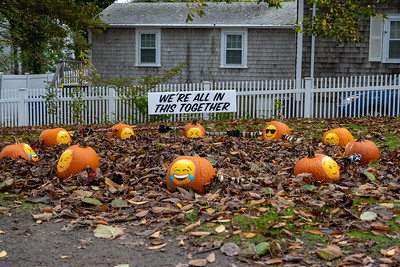 Pumpkin People and Pumpkins in Chatham 2020