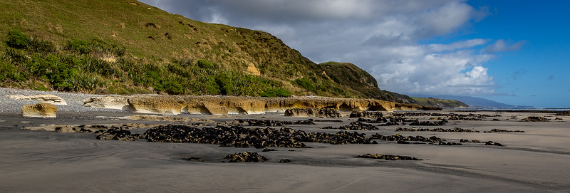 An der «Paturau Beach»