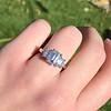 2.50ctw Emerald Cut Diamond 3-stone Ring, GIA E VS1 5