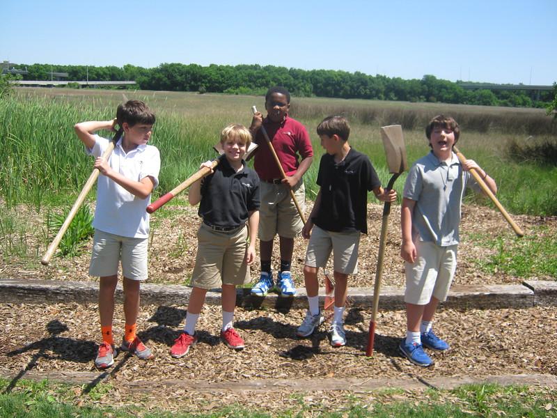 raking the nature trail.JPG