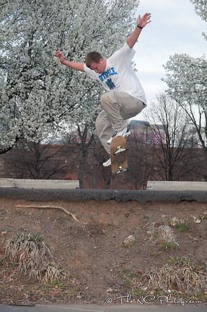Skateboarding, 3/4/2011