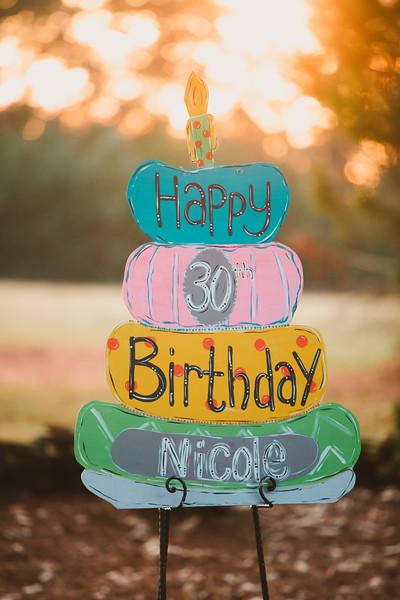 Nicole Gantt / 30th Birthday