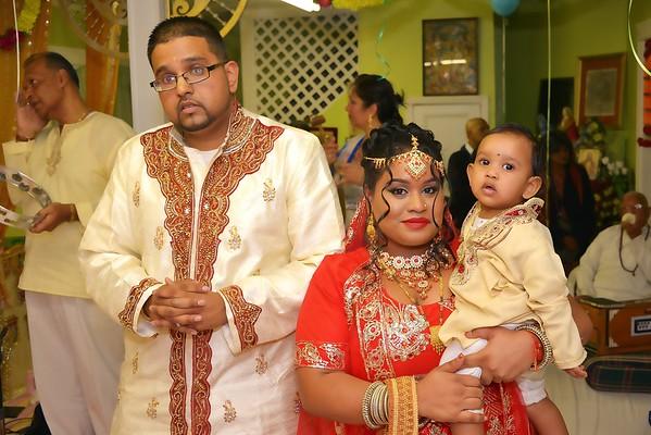 Avinash's 1st Birthday Pooja