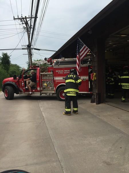Fire Island Staff House Fire 7-2-15