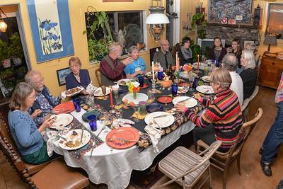 Thanksgiving at Beth's 2015