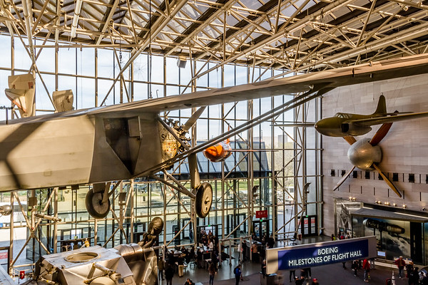 2019-03-27 Air and Space, Botanical Garden, Capitol Building