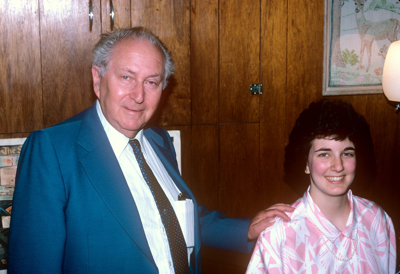 1988-06 Bonnie Piano Recital Bonnie & Mr. Schlossberger.jpg