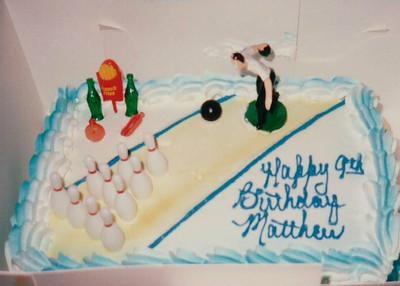 1992-12   Matthew's 9th Birthday   Bowling