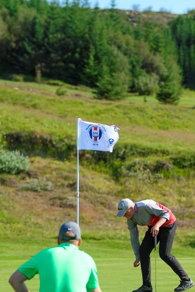 GR, Böðvar Bragi Pálsson Íslandsmót í golfi 2019 - Grafarholt 2. keppnisdagur Mynd: seth@golf.is