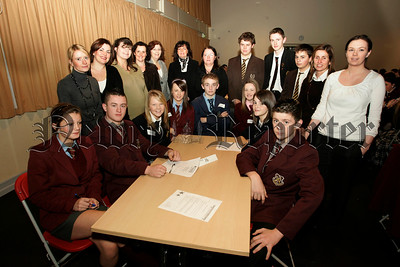 Visiting pupils and teachers from Newry and surrounding area attend the Young Enterprise NI Entrepreneurial masterclass kindly hosted by St Paul's High school Bessbrook. 06W48N9