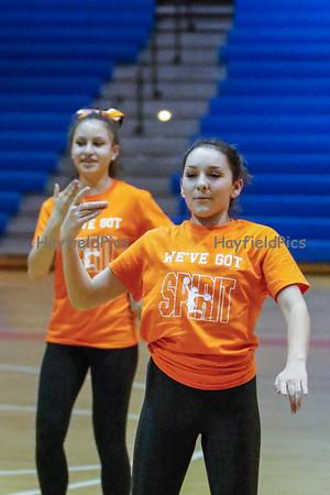 MS Cheer Team Dance 3/27/15