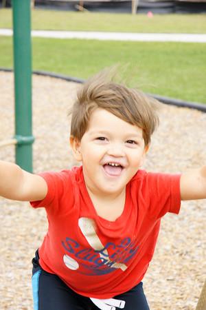 David at the park
