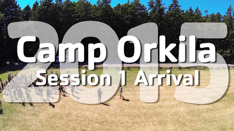 YMCA Camp Orkila 2015 | Session 1 Arrival
