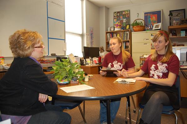 02-20-2014 RRHS Future Educators Job Shadow Day