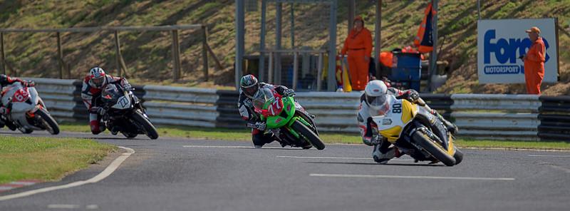 Mark Dangerfield - Castle Combe  Race 6 & 16 Powerbike (Honda Fireblade 1000 - Space Centre Racing)