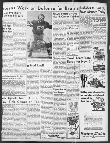 Daily Trojan, Vol. 39, No. 46, November 18, 1947