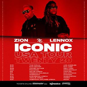 Zion & Lennox - ICONIC US Tour Twenty20