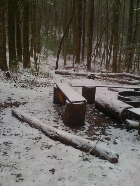First AT snowfall for Muddy