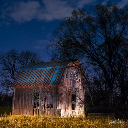 A Barn in Johnson County Kansas