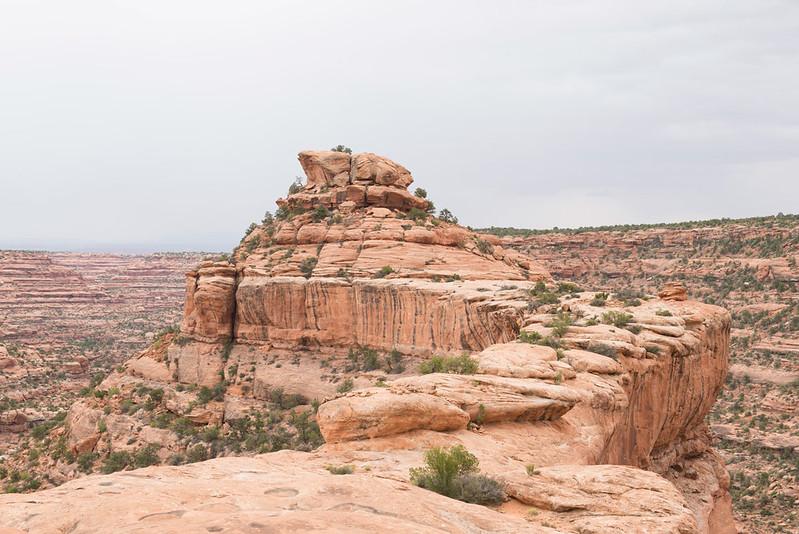 Citadel Ruin Approach, Cedar Mesa