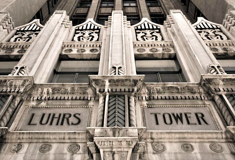 Luhrs Tower, an historic Phoenix landmark.