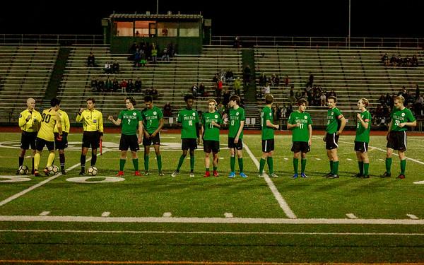 2019 Wilson Varsity Mens Soccer vs Benson