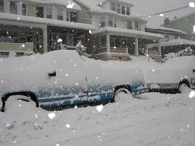 Snow Storm, Tamaqua Area (2-10-2010)