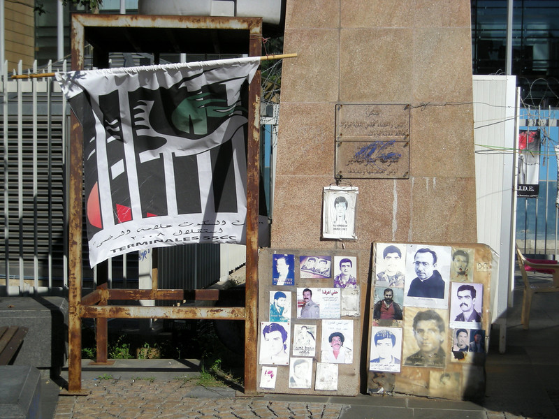 remembering Lebanese who disappeared during the Syrian occupation