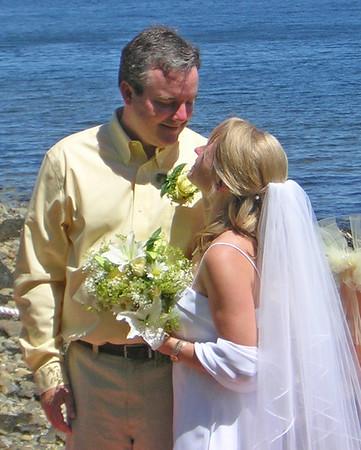 Jen & Morgan Wedding 5 August 2006