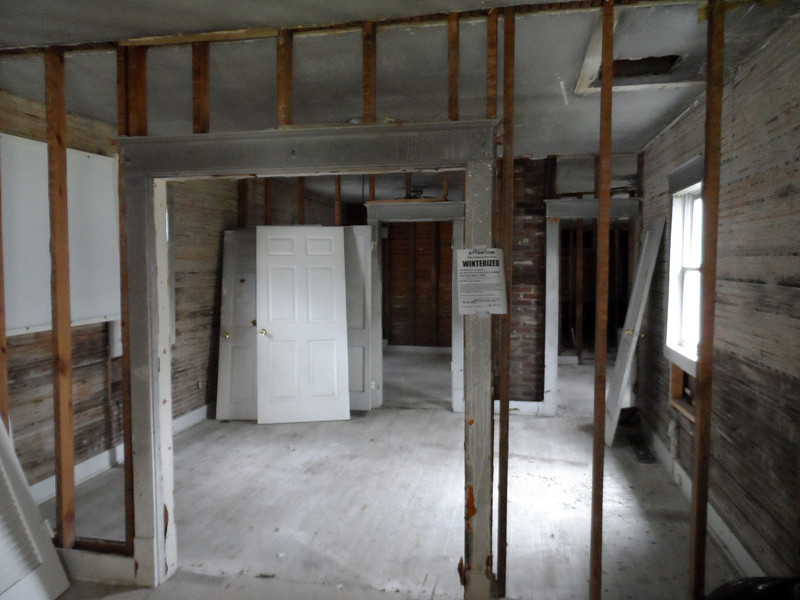 April 17, 2013: Save a House/Make a Home project in progress. The Fuller Center of Louisville has found that the vacant homes it has received need a great deal of work but most have been structurally sound.