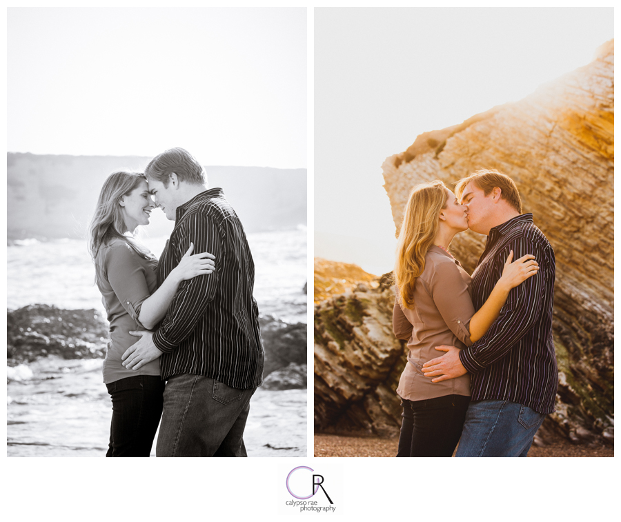 Beach-Sunset-Engagement-Photographs