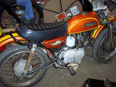 1972 Yamaha Mini Enduro JT-2