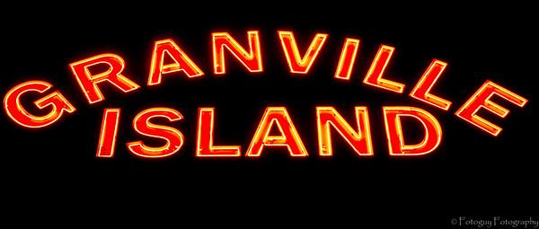 Granville Island at Dawn