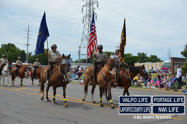 Michigan City Independence Day Weekend Parade 2016