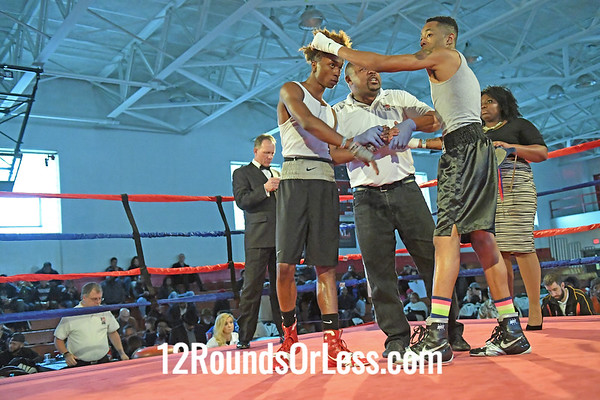 Bout 6 Ryzeemion Ford, Red Gloves, Common Ground BC, Alliance -vs- Marcell Bonner, Blue Gloves, Bob Davis BC, Cleveland, 141 Lbs