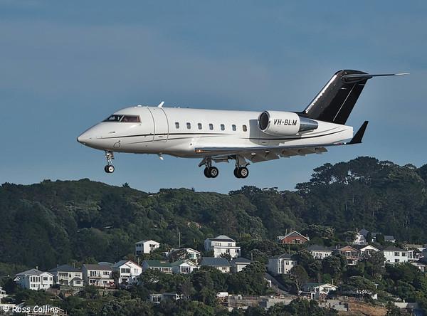 Bombardier CL604 VH-BLM at Wellington 2020