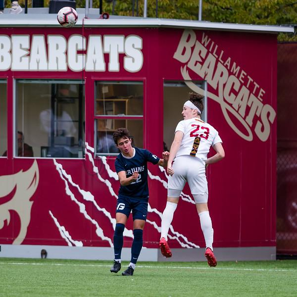 Men's Soccer: Willamette Bearcats vs George Fox Bruins