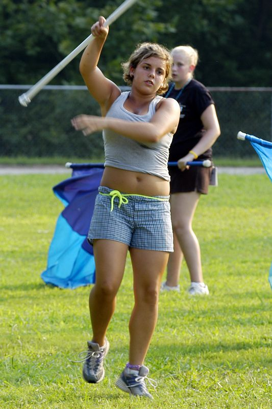 2005-08-09: Band Camp Day 9 (Evening Practice)