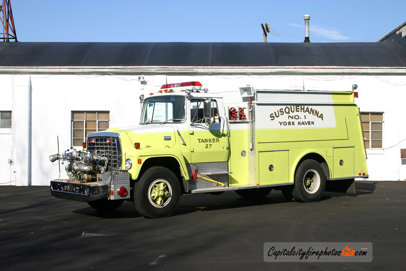 York Haven X-Tanker 27: 1977 Hammerly/Ford 750/1500