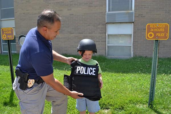 2012-07 Jr's Visit to KSU Police