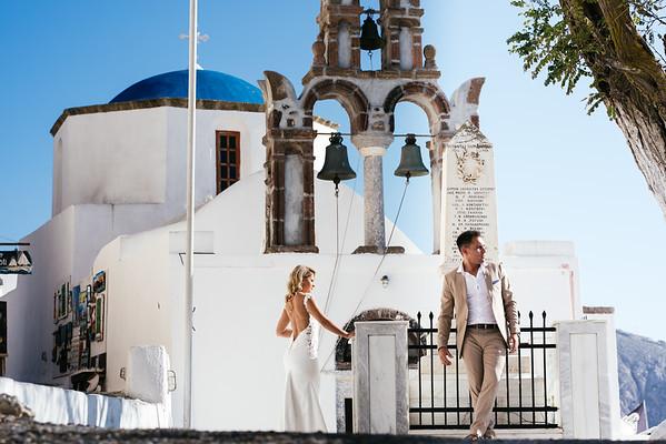 Georgina & Markos - Next day at the island of 🔆Santorini