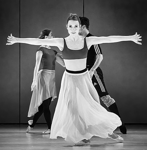 Houston Ballet Rehearsal Sylvia W&P