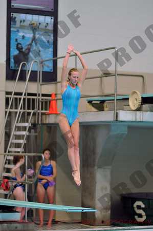 Michigan Diving Assn. State Championship - 14-19 girls 1 meter - Saturday, June 28