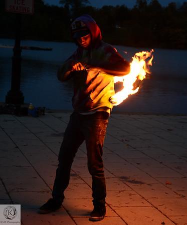 Street Performer (fire)