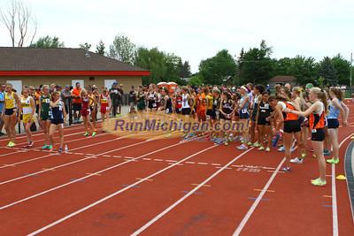 D1 Girls 3200M Finals - 2013 MHSAA LP Track and Field