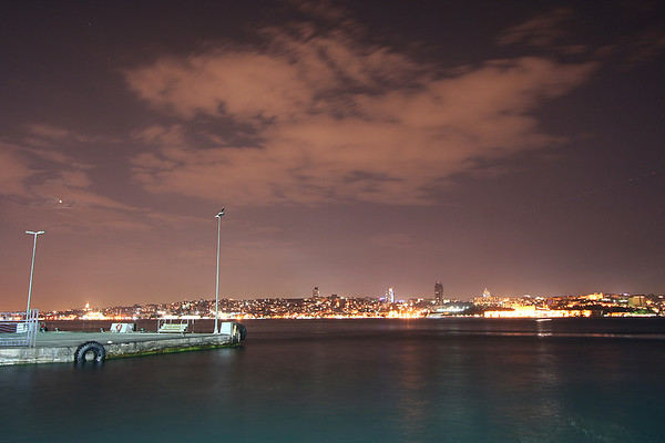 Istanbul, Turkey (At Night) - 6/27/2009