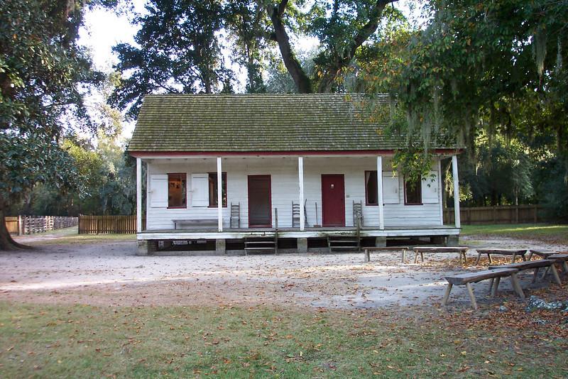 Eliza's House behind the Middleton Plantation